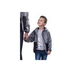 Kurtka chłopięca przejściowa z kieszeniami, z kapturem. Szare kurtki chłopięce przejściowe marki TXM. Za 19,99 zł.