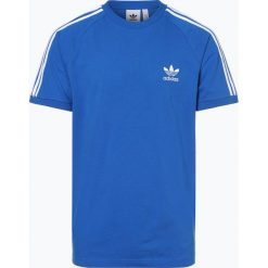 Adidas Originals - T-shirt męski, niebieski. Niebieskie t-shirty męskie adidas Originals, m, w paski. Za 89,95 zł.