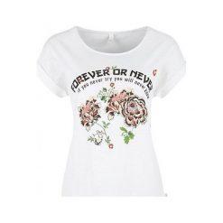 Q/S Designed By T-Shirt Damski Xs Biały. Białe t-shirty damskie marki Q/S designed by, s, z bawełny. W wyprzedaży za 59,00 zł.