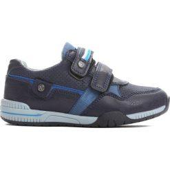 Niebieskie Buty Sportowe Make Off. Niebieskie buty sportowe chłopięce Born2be, z materiału, z okrągłym noskiem. Za 39,99 zł.