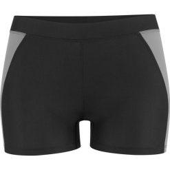 Figi bikini wyszczuplające bonprix czarny. Czarne bikini bonprix, w paski. Za 59,99 zł.