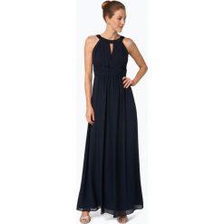 Marie Lund - Damska sukienka wieczorowa, niebieski. Niebieskie długie sukienki Marie Lund, z szyfonu, eleganckie, z długim rękawem. Za 699,95 zł.
