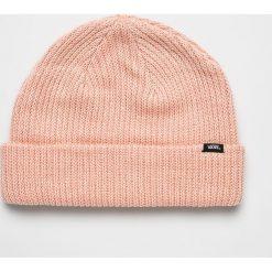 Vans - Czapka. Szare czapki zimowe damskie Vans, na zimę, z dzianiny. W wyprzedaży za 79,90 zł.