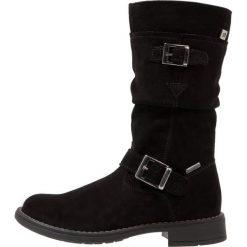 Richter Kozaki black. Niebieskie buty zimowe damskie marki Roxy, z tworzywa sztucznego, na wysokim obcasie. W wyprzedaży za 321,30 zł.