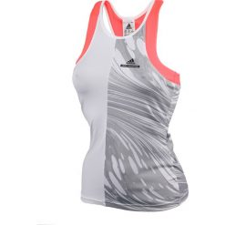 Bluzki asymetryczne: koszulka tenisowa damska Stella McCartney ADIDAS BARRICADE TANK / S94087 - ADIDAS BARRICADE TANK