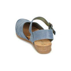 Sandały El Naturalista  STELLA. Niebieskie sandały damskie El Naturalista. Za 439,00 zł.
