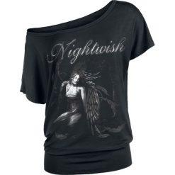 Nightwish Stone Angel Koszulka damska czarny. Czarne bluzki asymetryczne Nightwish, xl, z nadrukiem, z dekoltem na plecach. Za 99,90 zł.