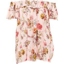 Bluzki asymetryczne: Needle & Thread RAINBOW ROSE TIERED Bluzka pink