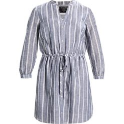 Sukienki hiszpanki: Abercrombie & Fitch POPOVER DRESS Sukienka letnia light blue