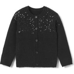 Swetry dziewczęce: Sweter rozpinany z cekinami 3-12 lat