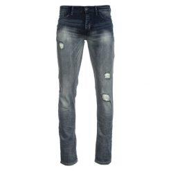 S.Oliver Jeansy Męskie 31/34 Niebieskie. Niebieskie jeansy męskie z dziurami marki S.Oliver. W wyprzedaży za 169,00 zł.