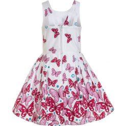 Sukienki dziewczęce: happy girls SCHMETTERLINGE Sukienka koktajlowa pink