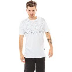 MARTES Koszulka męska Isobar Hi-Tec White/Grey r. S. Białe t-shirty męskie MARTES, m. Za 33,75 zł.