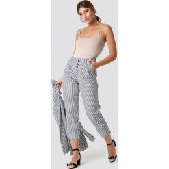 Spodnie damskie: MANGO Spodnie Coco - Blue,Offwhite