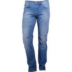 BOSS ATHLEISURE DELAWARE Jeansy Slim Fit blue. Czerwone jeansy męskie relaxed fit marki BOSS Athleisure, z bawełny. W wyprzedaży za 419,30 zł.