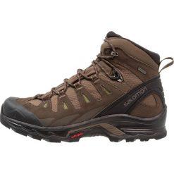 Salomon QUEST PRIME GTX Buty trekkingowe canteen/wren/olive. Brązowe buty trekkingowe męskie Salomon, z materiału, outdoorowe. Za 699,00 zł.