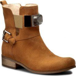 Botki SERGIO BARDI - Brigitta FS127214817DS  804. Brązowe buty zimowe damskie Sergio Bardi, ze skóry, na obcasie. W wyprzedaży za 249,00 zł.
