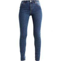Cheap Monday HIGH SKIN Jeans Skinny Fit blue love. Niebieskie boyfriendy damskie Cheap Monday. Za 209,00 zł.