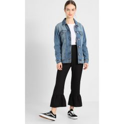 Bomberki damskie: Noisy May Petite NMOLE JACKET Kurtka jeansowa medium blue denim