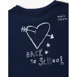 Bluzki dziewczęce bawełniane: Mango Kids - Bluzka dziecięca Crazy 110-164 cm