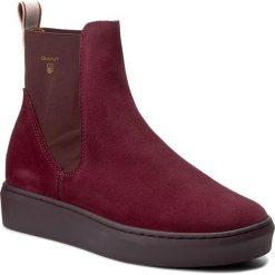 Botki GANT - Anne 15543087 Purple G507. Szare buty zimowe damskie marki GANT, z materiału. W wyprzedaży za 339,00 zł.