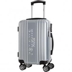 Walizka w kolorze srebrnym - 35 l. Szare walizki Bagstone & Travel One, z materiału. W wyprzedaży za 239,95 zł.