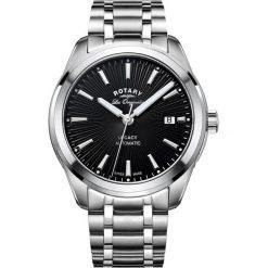 ZEGAREK ROTARY Legacy Automatic GB90165/04. Czarne, analogowe zegarki męskie ROTARY, ze stali. Za 3390,00 zł.