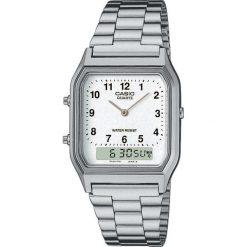 Zegarek Casio Damski AQ-230A-7BMQYES Retro czarny. Czarne zegarki damskie CASIO. Za 144,00 zł.
