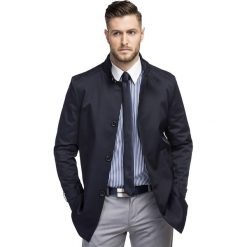 Płaszcz FLORIANO PSGS000097. Brązowe płaszcze na zamek męskie marki Cropp, na zimę, l, sportowe. Za 599,00 zł.