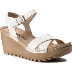 Rzymianki damskie: Sandały INBLU – GT122E44 Biały