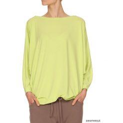 Bluzki asymetryczne: Bluzka pistacjowa YY500099_RAL6038