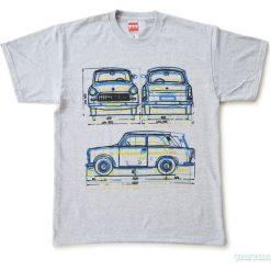 Koszulka TRABANT GREY. Szare bluzki z odkrytymi ramionami Pakamera. Za 77,00 zł.