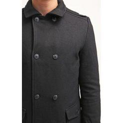 KIOMI Płaszcz wełniany /Płaszcz klasyczny black. Niebieskie płaszcze wełniane męskie marki KIOMI. W wyprzedaży za 407,20 zł.