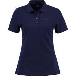 Jack Wolfskin Koszulka polo midnight blue. Niebieskie t-shirty damskie Jack Wolfskin, xs, z bawełny. Za 179,00 zł.