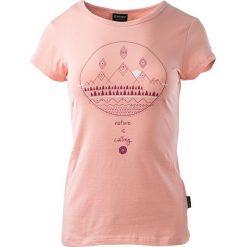 Hi-tec Koszulka damska LADY WILMA peach melba r. XS. Pomarańczowe bluzki asymetryczne Hi-tec, xs. Za 26,40 zł.