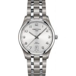 PROMOCJA ZEGAREK CERTINA DS 4 Big Size Titanium C022.610.44.032.00. Szare zegarki męskie CERTINA. W wyprzedaży za 1839,20 zł.