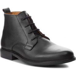 Buty zimowe męskie: Kozaki TOMMY HILFIGER - Color Block Heel Leather Boot FM0FM01602 Black 990