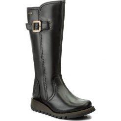 Kozaki FLY LONDON - Shapfly GORE-TEX P144059000 Black. Czarne buty zimowe damskie Fly London, z gore-texu. W wyprzedaży za 559,00 zł.