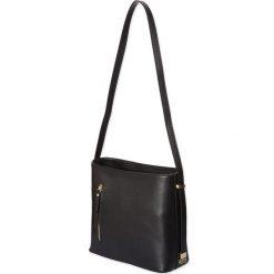 """Torebki klasyczne damskie: Skórzana torebka """"Sonny"""" w kolorze czarnym – 23 x 26 x 10 cm"""