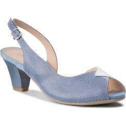 Sandały damskie: Sandały CAPRICE – 9-28306-20 Sky/Wht Multi 837