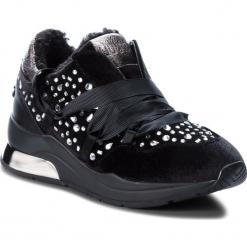 Sneakersy LIU JO - Karlie 03 B68031 TX026  Black 22222. Czarne sneakersy damskie Liu Jo, z materiału. Za 739,00 zł.