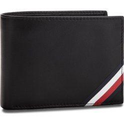 Duży Portfel Męski TOMMY HILFIGER - Corp Edge CC Flap An AM0AM03657  002. Czarne portfele męskie marki TOMMY HILFIGER, ze skóry. W wyprzedaży za 269,00 zł.