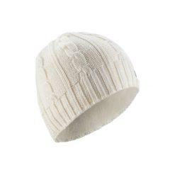 Czapka TORSADES. Białe czapki damskie WED'ZE, klasyczne. Za 39,99 zł.