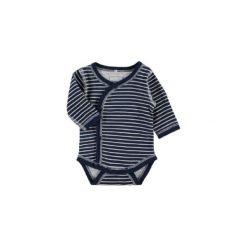 Body niemowlęce: NAME IT Boys Body dziecięce dla wcześniaka NITWONDER dress blues