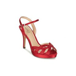 Sandały Menbur  COLOMBIA. Czerwone sandały damskie Menbur. Za 391,20 zł.