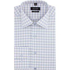 Koszula versone 2820 długi rękaw slim fit niebieski. Szare koszule męskie slim marki Recman, na lato, l, w kratkę, button down, z krótkim rękawem. Za 139,00 zł.