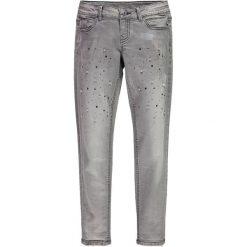 Mek - Jeansy dziecięce 128-170 cm. Fioletowe jeansy dziewczęce marki OLAIAN, z elastanu, sportowe. W wyprzedaży za 129,90 zł.