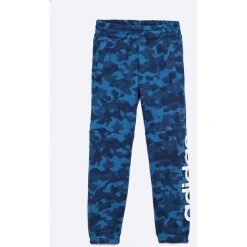 Adidas Performance - Spodnie dziecięce 110-176 cm. Niebieskie spodnie chłopięce adidas Performance, z bawełny. W wyprzedaży za 89,90 zł.