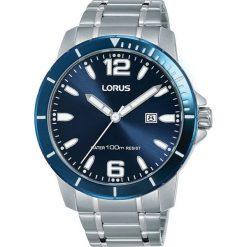 Zegarek Lorus Męski RH961JX9 Sportowy WR 100M srebrny. Szare zegarki męskie Lorus, srebrne. Za 404,87 zł.