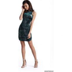 Sukienka KASANDRA. Szare sukienki hiszpanki Pakamera, mini, dopasowane. Za 169,00 zł.